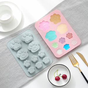 Cat Paw Chocolate Silicone Mould DIY Cookie Cake Ice Cube Jelly Baking Mould DIY