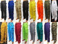 Men's PJ MARK cargo pants brown /black /olive /khaki /yellow ...