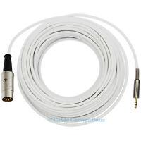 3M WHITE B&O NAIM 3.5MM JACK TO 5 PIN DIN PLUG IPOD IPHONE MP3 AUDIO CABLE LEAD