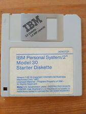 "IBM DOS Personal System PS/2 Model 30 Starter Diskette (80X0721) 1987 3.5"" 1MB"