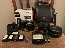 Sony Alpha a6000 24.3MP Digital Camera (Body, 16mm f/2.8 Lens, Bag) Relist item