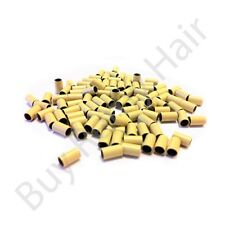 Copper Micro Rings For Hair Extensions 0.50g beads 6mm Apx in length