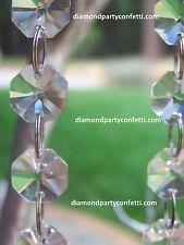 30 FEET Crystal Glass Wedding Tree Centerpiece Garland Chain Diamond Decoration