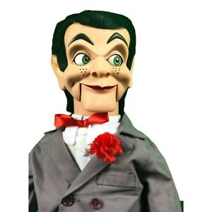 Slappy / Goosebumps Deluxe Upgrade Ventriloquist Dummy Doll Moving Eyes QUALITY!