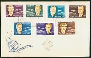 Mayfairstamps Hungary FDC Astronaut and Shuttle Combo First Day Cover wwo_57951