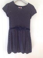 J Jeans Age 9-10 Blue Spotty Dress