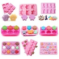 20 Shape Silicone Cake Decorating Mould Candy Cookies Soap Chocolate Baking Mold