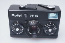 Rollei 35TE Kamera Camera with 1:3.5/ 40mm Carl Zeiss Tessar black edition /D024