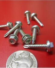 Zinc Plated Torx Head, Serrated, Self Drilling Screws #2 x 3/4