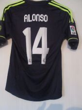 Real Madrid 2012-2013 Alonso 14 Away Football Shirt Size Small /41998