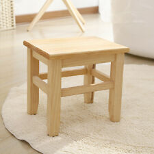 Children Bench Small Solid Wooden Stool Chair Seating Milking Stool Home Stool