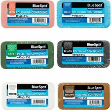 BlueSpot Polishing Buffing Compound Bars Metal Stainless Steel Brass Aluminium