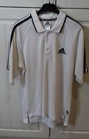 size 36/38 cottonmix white ADIDAS - the brand with the 3 stripes - POLO TOP