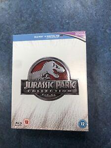 JURASSIC PARK Collection (4-Disc Blu-Ray Boxset) Ultimate Trilogy Jurassic World