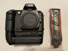 Canon EOS D30 3.2MP Digital SLR Camera w/BG-ED3 Battery Grip with 2 batteries.