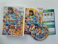 Inazuma Eleven Go: Strikers 2013 Nintendo Wii Battle soccer