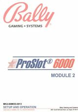Slot Machine Manuals For Sale Many Titles to Choose From See Description Below