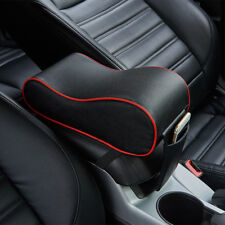 Universal Memory Cotton PU Leather Car Console Armrest Cushion Mat Auto Soft Pad