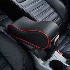Universal Memory Cotton PU Leather Car Armrest Box Mat Console Pad Cushion Cover