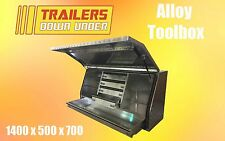 Aluminium Toolbox with 5 draws | Weather Proof | Full Lift Up Door