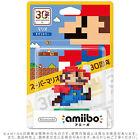 New! 30th Anniversary Super Mario Modern Color amiibo Figures for Nintendo Wii U