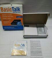 BasicTalk HT701 Home Phone Service VoIP Internet Basic Talk Box Voicemail 911