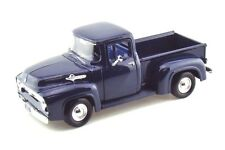 1956 Ford F-100 Pickup Blue 1/24 Diecast Model Car by Motormax