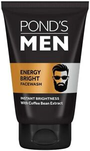 POND's Men's Energy Bright Face Wash Cleansers & Toners 100g
