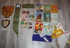 LOT OFBOY SCOUT , Cub Scouts Awards, Books Etc  1960'S