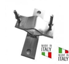 STAFFA ZANCA PARI MURO A CROCE PER PALO ANTENNA DA 25 - 60 MADE IN ITALY