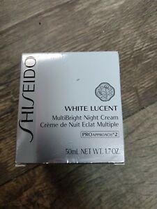 Shiseido White Lucent MultiBright Night Cream 1.7 oz.