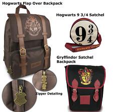 Harry Potter Backpack Satchel Back To School Bags Hogwarts Or Gryffindor New