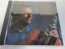 CHARLIE WALLER & THE COUNTRY GENTLEMEN ~ 45 YEARS OF MEMORIES ~ ARTIST SIGNED CD