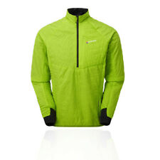Montane Mens VIA Fireball Verso Pull-On Jacket Top Green Sports Outdoors Half