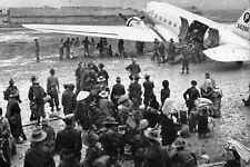 Militaria - Indochine - Dakota pour l'évacuation de Na-San en août 1953