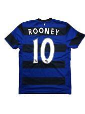 Manchester United Trikot ROONEY 11/12 Away Shirt Blue Nike Vintage Camista M