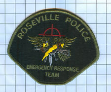 Police Patch - Minnesota - Roseville Emergency Response Team