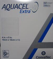 1 BOX OF 10 CONVATEC 420677 AQUACEL AG EXTRA 4x5 NEW 06/01/2023 SEALED