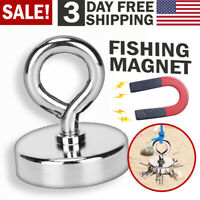 Fishing Magnet with Lifting Hook for Magnetic Retrieving Treasure Hunt Collects