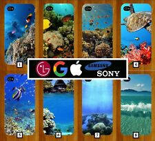 Coral Fish Phone Case Cover Ocean Sea Scuba Diver Reef Style X XS 7 6 5 s8 s9 37