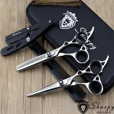 """Barber Hair Scissors Salon Hairdressing Scissors Thinning 6.0"""" Pro Shears Set"""