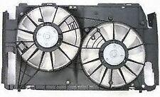 2006-2008 Toyota Rav4 2.5/2.4 L Radiator/AC Condenser Cooling Fan/Shroud/Motor