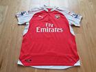 Mens Puma Arsenal ADAMS #6 Home football shirt 2015 - 2016 Size XL