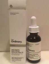 The Ordinary - 100% Organic Cold-Pressed Moroccan Argan Oil. 1 fl oz/30ml, New