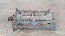 pédale ancienne métal pièce détachée d'origine/vélo ancien/old french pedals.