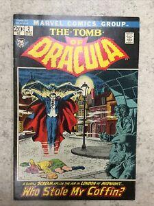 THE TOMB OF DRACULA # 2 Marvel 1972 1st Print UNREAD Copy