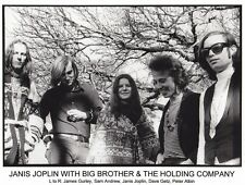 JANIS JOPLIN WITH BIG BROTHER & THE HOLDING COMPANY   8X10 PHOTO #297