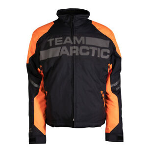 New Men's Arctic Cat Shock Snowmobile Jacket - Orange- 3XL - #5310-099