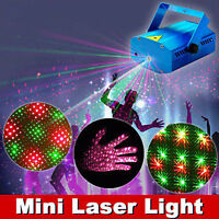 New  R&G Super Mini Projector DJ Disco LED Laser Lighting Stage Light Party Show