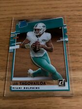 New Listing2020 Panini Chronicles Clearly Donruss Rated Rookie Tua Tagovailoa Rc Dolphins